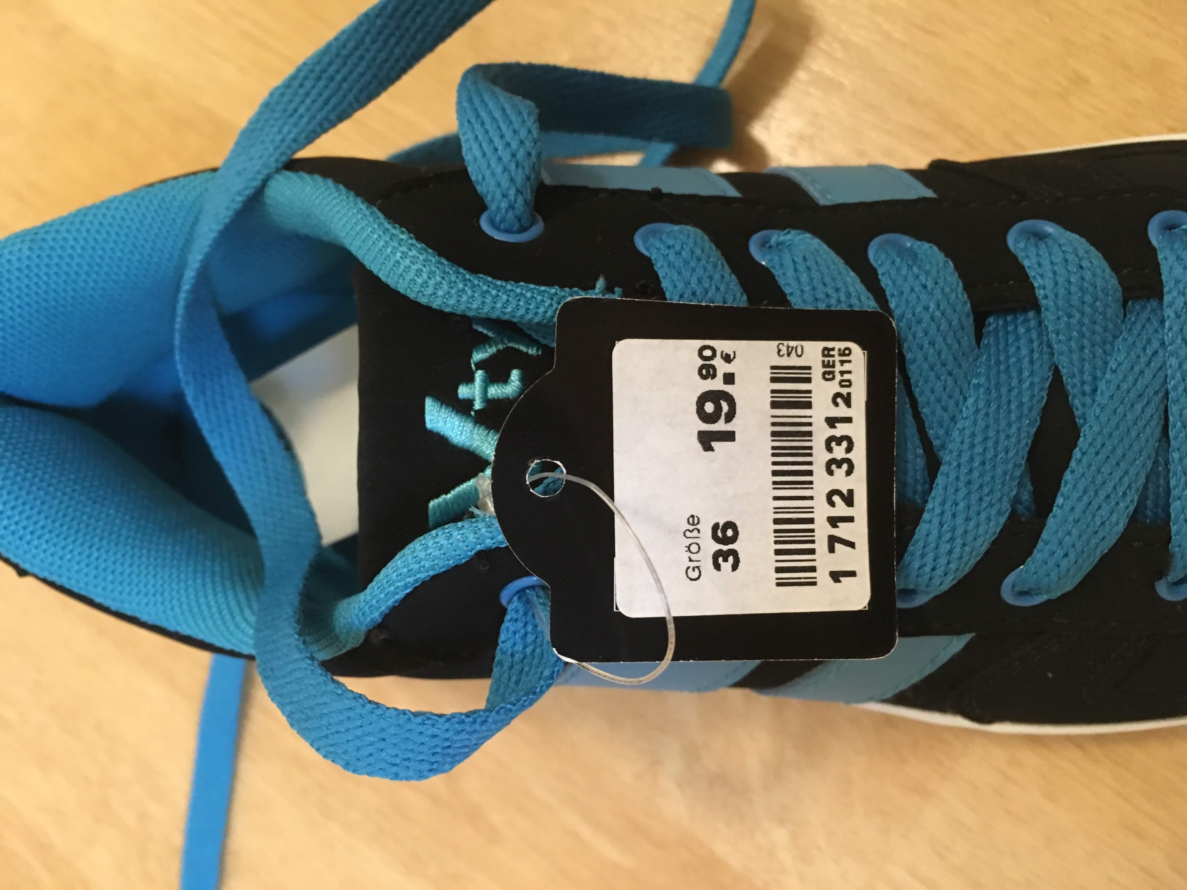 Bild Nummer 5 von Skaterschuhe, links 37, rechts 36, schwarz mit blau