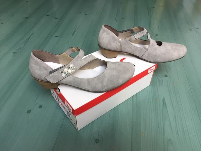 RIEKER® 41784-41,Ballerina – der Antistress-Schuh