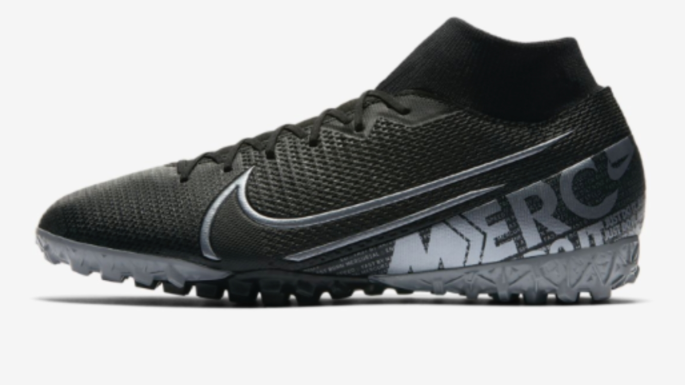 Foto des unpaars Nike Mercurial Superfly V||
