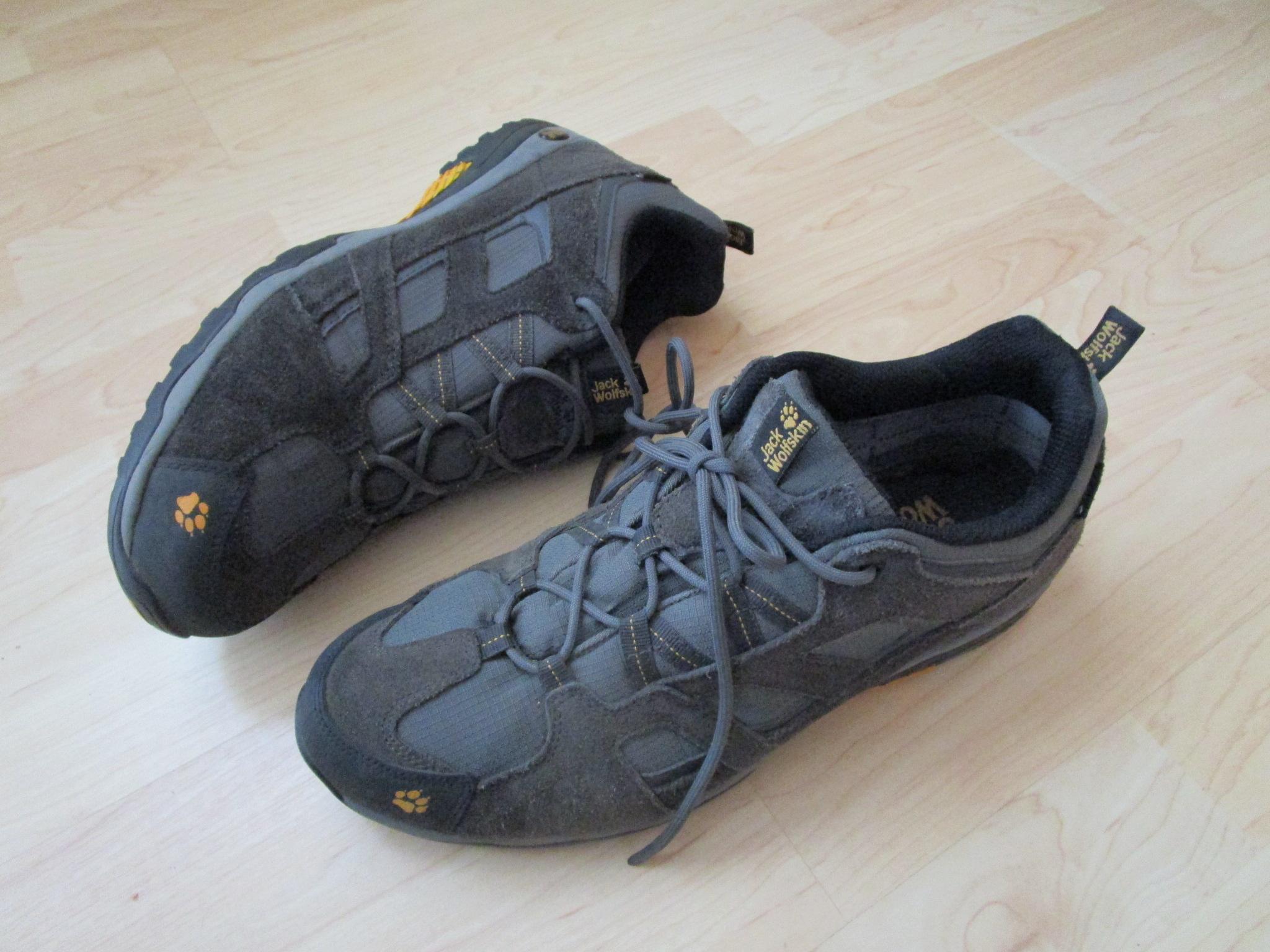 Foto des unpaars Jack Wolfskin Schuhe Outdoor Walking Freizeit