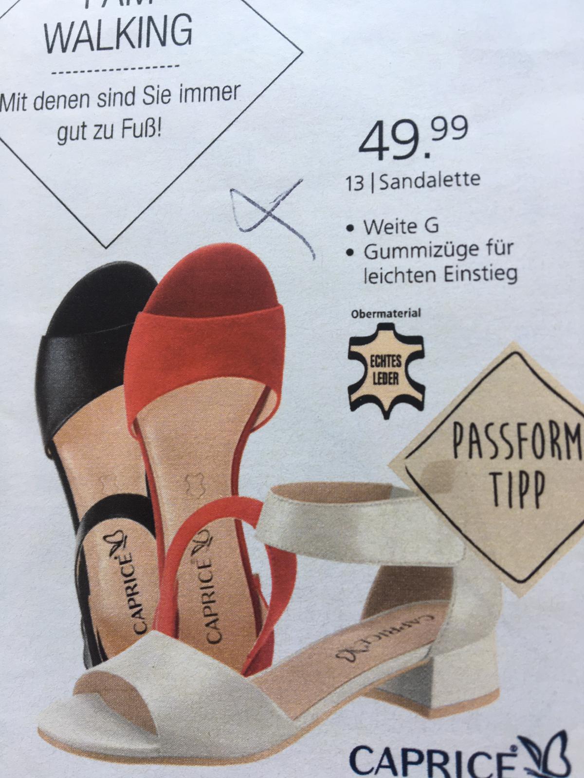 Bild Nummer 2 von Sexy Leder Sandaletten *NEU*