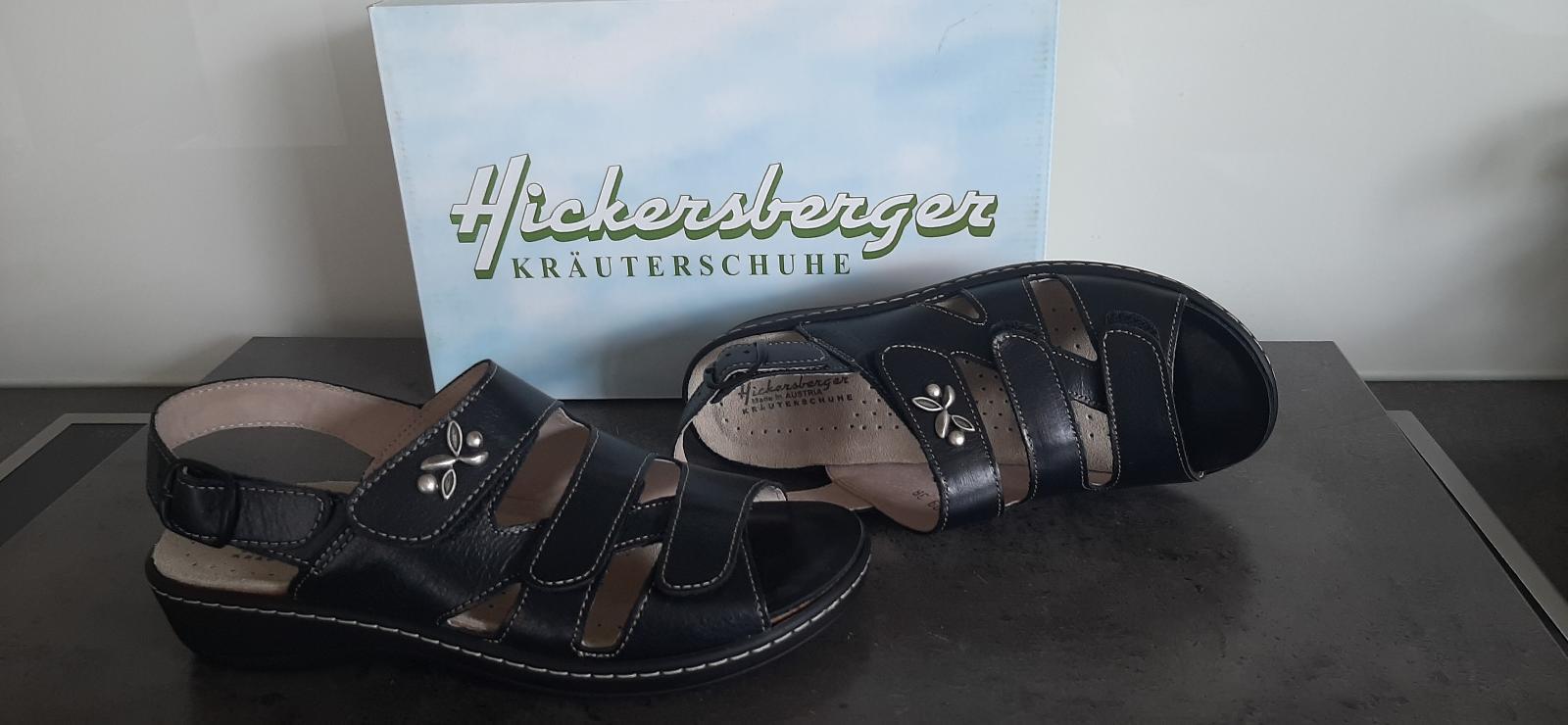 Foto des unpaars Sandale schwarz Hickersberger