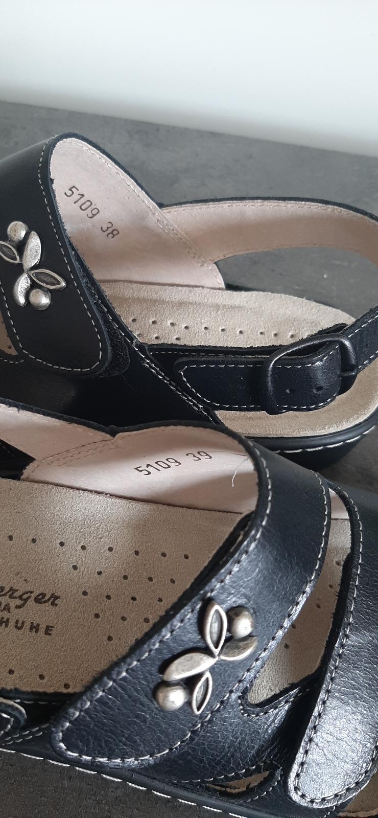 Bild Nummer 4 von Sandale schwarz Hickersberger