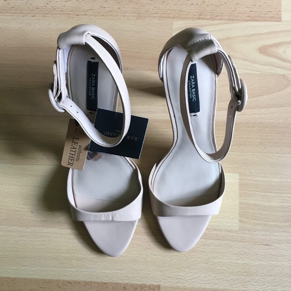 Zara Leder High Heels 38 & 39