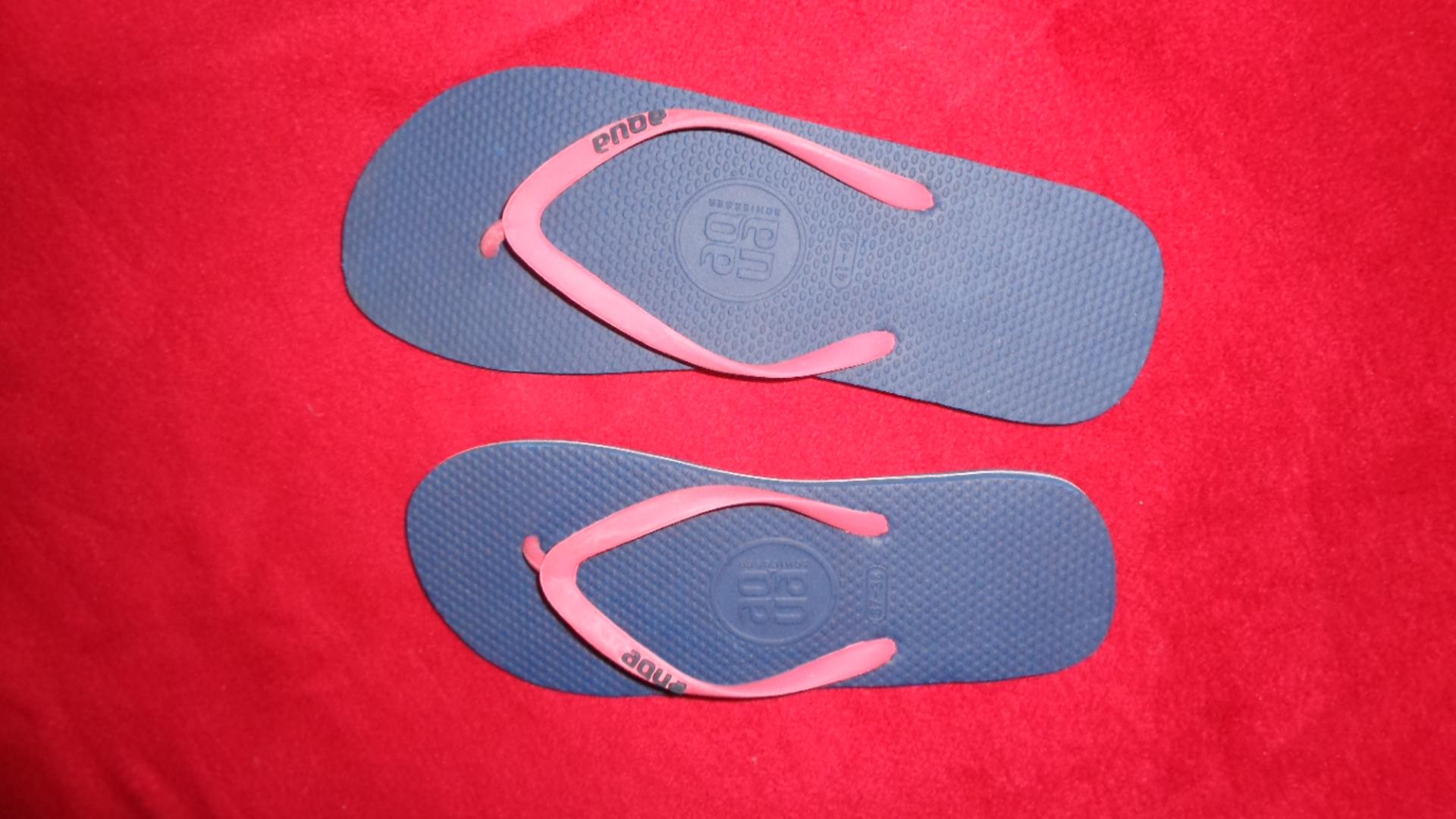 Foto des unpaars Flip Flop / V-Sandale aqua SCHIESSER