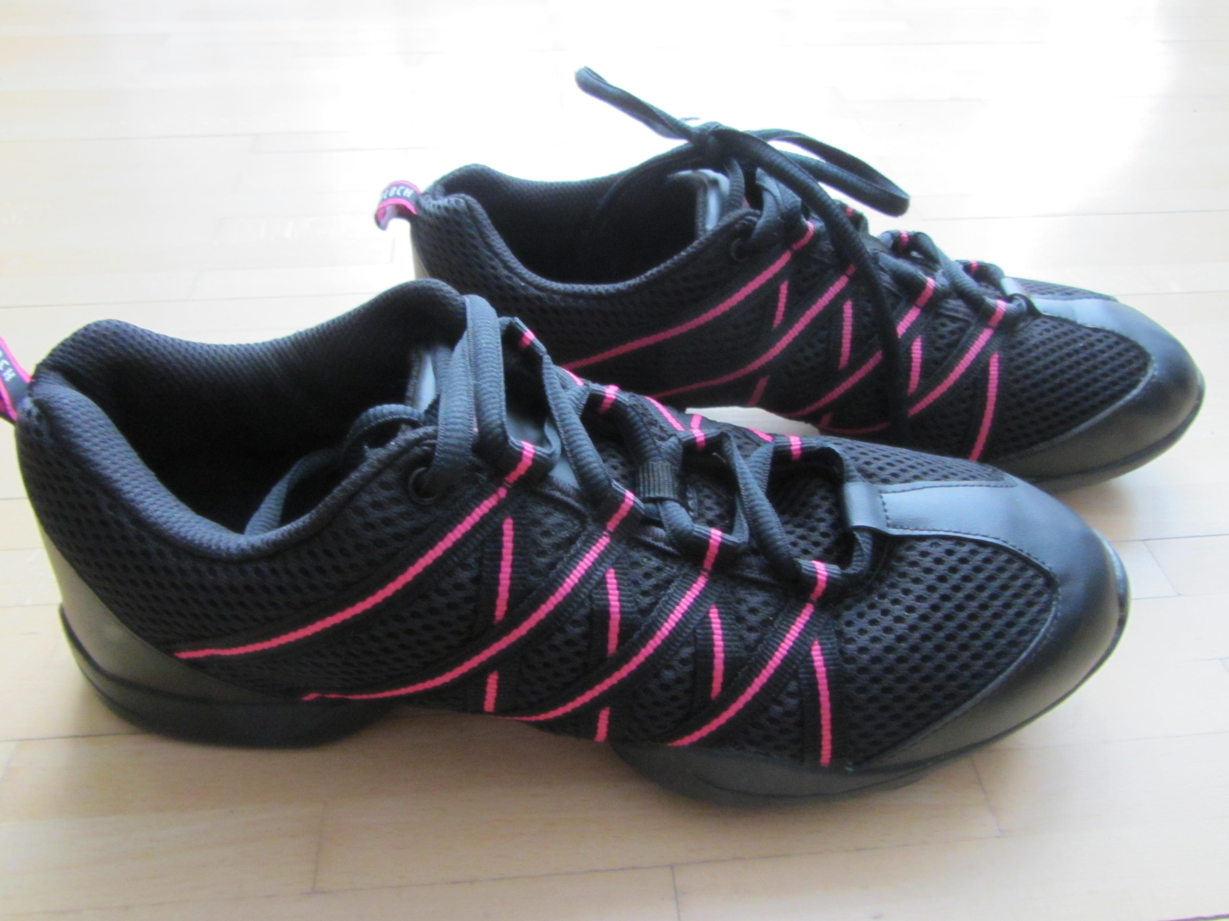 Bild Nummer 2 von Bloch Tanz Sneaker schwarz pink