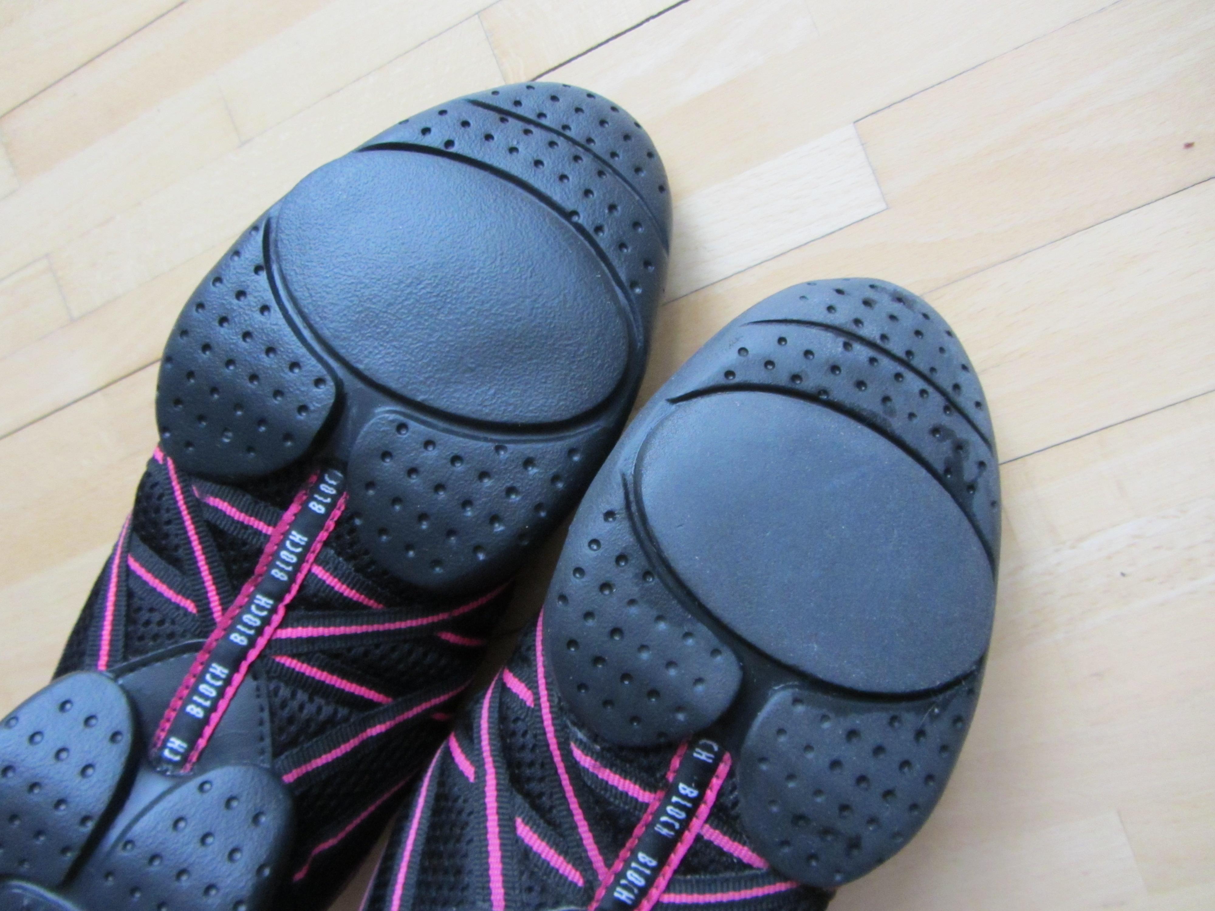 Bild Nummer 3 von Bloch Tanz Sneaker schwarz pink
