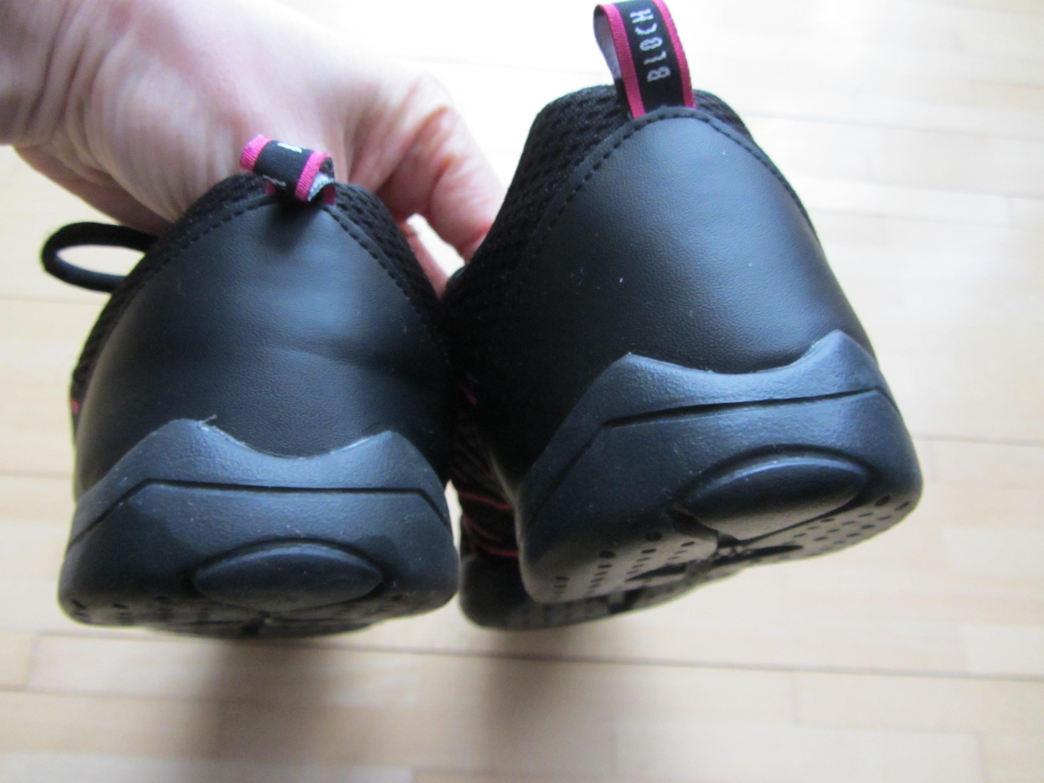 Bild Nummer 4 von Bloch Tanz Sneaker schwarz pink