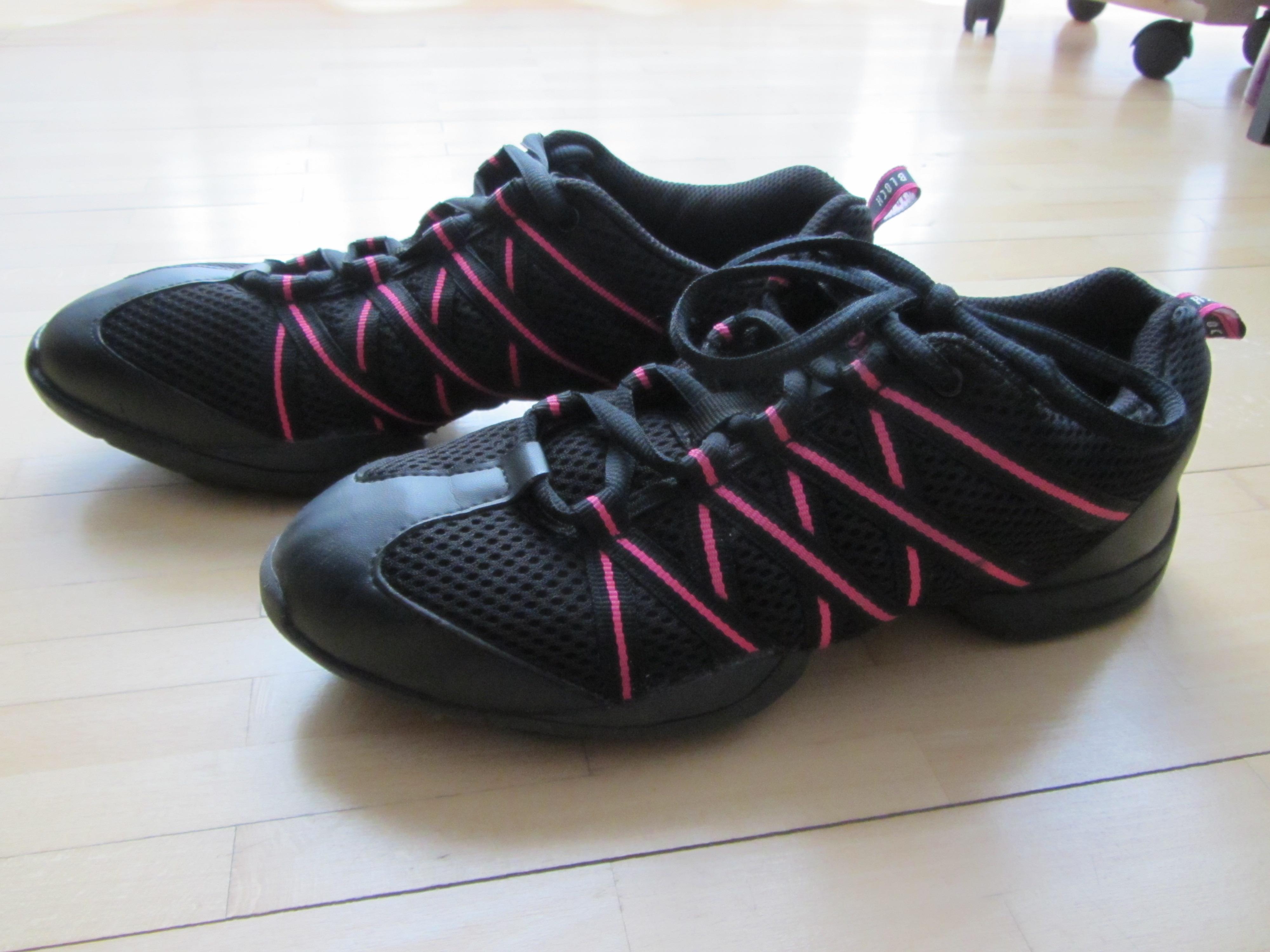 Bild Nummer 5 von Bloch Tanz Sneaker schwarz pink