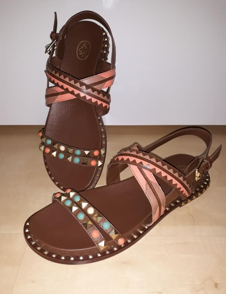 """ASH """"Massai"""" Sandalen aus Leder"""