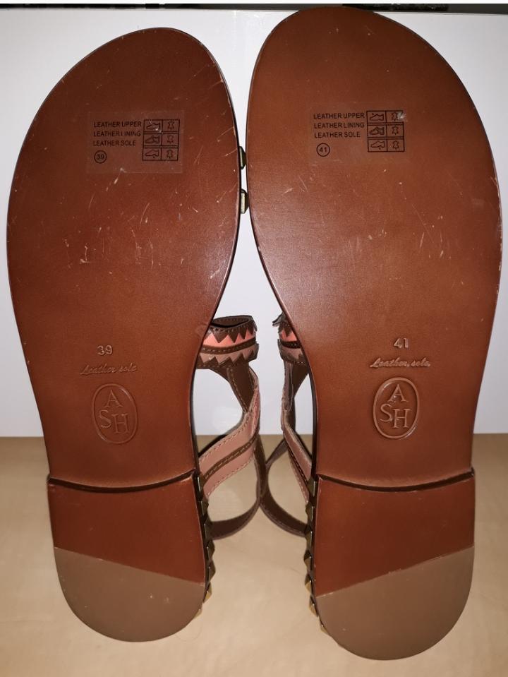 """Bild Nummer 2 von ASH """"Massai"""" Sandalen aus Leder"""