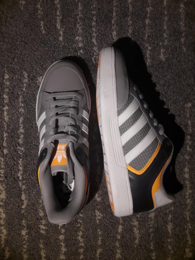 Adidas Sneakers/Laufschuhe grau/orange
