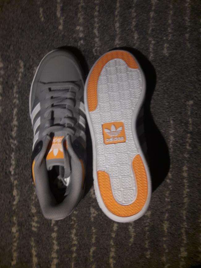 Bild Nummer 2 von Adidas Sneakers/Laufschuhe grau/orange